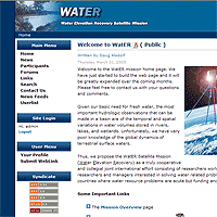 WatER Satellite Mission