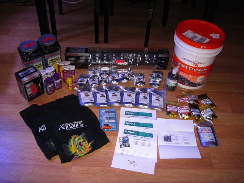 MMC 2011 raffle and freebies - what u get at Cranbrook swap